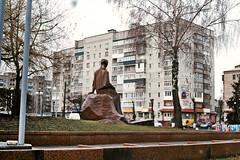 ,   (shtryh) Tags: film monument   lesjaukrainka