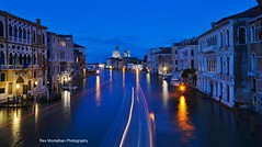 venice in the blue hour (Rex Montalban Photography) Tags: venice italy europe accademiabridge rexmontalbanphotography