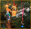 Denmark (centre) (Mabacam) Tags: christmas decorations portugal turkey denmark basket ornaments tradition custom georgejensen christmastreedecorations treedecorations