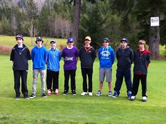 Mount Elizabeth Secondary School Golf Team 2013- Justin Vales (JustinVales7) Tags: familyandfriends playday princerupertbritishcolumbia messgolfteam bunchahackers