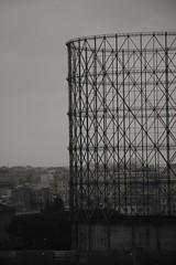 Gasometro - Roma. (vedoilmondocosi) Tags: blackandwhite rome roma art arte biancoenero gasometro