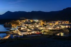 Cabo de Gata (Chus Blazquez) Tags: costa noche mar pueblo nocturna montaa almera cabodegata thewebfoto