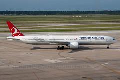 Turkish Airlines Boeing 777-3F2/ER TC-JJV (Flightline Aviation Media) Tags: airplane airport aircraft aviation jet houston boeing airlines 777 turkish iah stockphoto kiah 777300 georgebushintercontinental canon50d bruceleibowitz 7773f2 tcjjv flightlineaviationmedia 2686623
