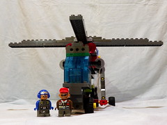 Lego Duplo - Hubschrauber - Scycrane 04 (*hannes*) Tags: lego helicopter toolo hubschrauber duplo moc helikopter rotors