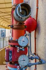 Pipes and Meters, Weizmann Street, Tel Aviv (kitchener.lord) Tags: israel telaviv impressions 2016 xf27