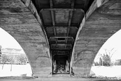 Bridging Under (Judith A. Gale Photography) Tags: under bridge saskatchewan beautiful sexy gorgeous landscape canada