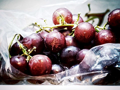 Maroon (timslater61) Tags: fruit olympus grapes f56 omd helios44 14s iso6400 artfilter