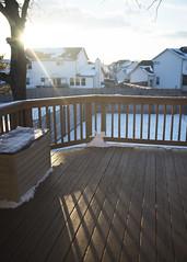 (emilynurrenbrock) Tags: light sunset snow art ice home window glass 35mm nikon frost bokeh sigma d750 nurrenbrock emilynurrenbrock