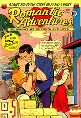 Romantic Adventures 16 (Michael Vance1) Tags: woman man art love comics artist marriage romance lovers dating comicbooks relationships cartoonist anthology silverage