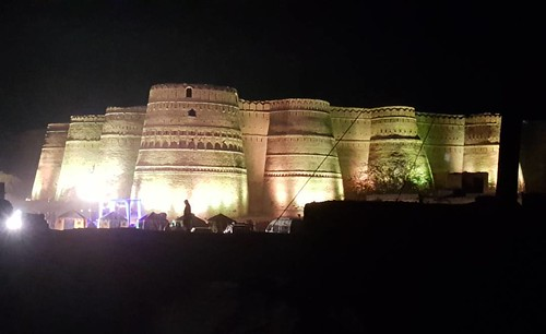 #Derawar #Fort Cholistan #desert #night  #view