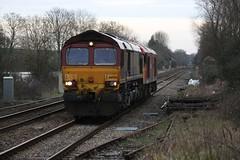 IMGA1253 66056 60024 0V41 Dean 21 Jan 16 (Dave58282) Tags: dean rail 29 60024 66056