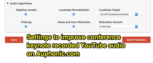 Improve Recorded YouTube Audio with Auph by Wesley Fryer, on Flickr
