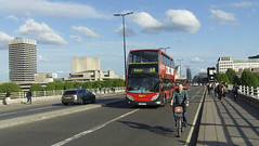bus and bike (theatrebreaks) Tags: london westend theatreland