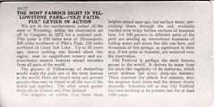 Tour of World-2 (1116-2) (Vernon Parish Library) Tags: old yellowstonenationalpark faithful geysergeysers