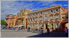 Monaco Ville (Cervusvir) Tags: france beach strand frankreich montecarlo monaco fontvieille francia plage alpesmaritimes mediterranee mittelmeer sea french mediterranean cte meeralpen dazur riviera