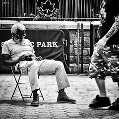 The Present Day Street Photographers Refuse To Die...   #streetphotography (Johnny Mobasher Street Photography) Tags: street new york nyc blackandwhite monochrome photography flickr fuji manhattan group streetphotography rest unionsquare
