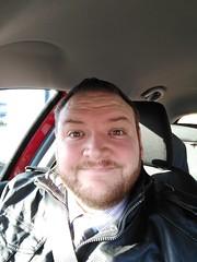 Bright selfie