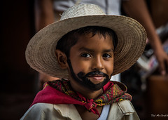 2015 - MEXICO - Zihuatanejo - Dia de la Revolution (Ted's photos - For Me & You) Tags: portrait face hat scarf pose beard mexico nose eyes nikon bokeh posing moustache d750 cropped vignetting zihuatanejo strawhat prettyface tedmcgrath tedsphotos nikonfx zihuatanejoguerrero tedsphotosmexico nikond750 zihuatanejo2015