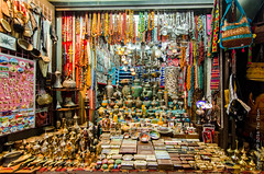 Shop in the Mutra Souk (Tex Texin) Tags: shop booth colorful crafts middleeast souk vendor oman seller muscat muttrah mutra