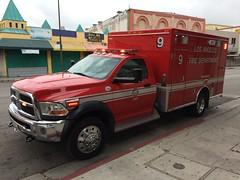 Los Angeles Fire (Squad 37) Tags: fiat lafd ambulance dodge chrysler ems