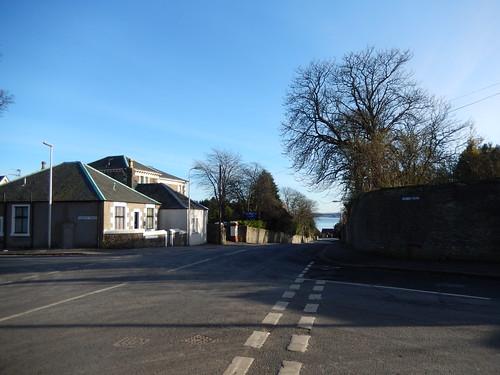 Ellieslea Road intersecting Albany Road