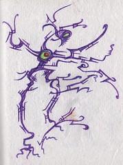Learning to Walk (darksaga66) Tags: art doodle penandink inkart bookofink