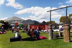 20160313-09-MONA Market mardi gras theme (Roger T Wong) Tags: people grass market lawn australia mona moma tasmania hobart mardigras stalls 2016 canonef24105mmf4lisusm canon24105 canoneos6d museumofoldandnewart rogertwong