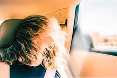 (christopher larsen) Tags: california light people woman film girl beauty car cali contrast vintage pose hair model nikon women sad humanity portait sony palmsprings grain human portraiture flare fujifilm melancholy a7 humans laquinta peo eseries oldlens a7r 75150mm a7s