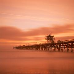 San Clemente Pier (Hieroglyphics...) Tags: longexposure sunset canon san canoneos clemente movingclouds sunsetcolors sanclementepier sunsetmoment canonphotography canonshots sunsetphotography longexposureshot sunsetafterglow canon7d