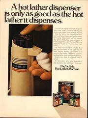 1973 Schick Hot Lather Machine Advertisement Playboy November 1973 (SenseiAlan) Tags: november hot machine advertisement playboy 1973 lather schick