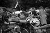 Provinciaal Archeologisch Museum Velzeke (Flanders) - Re-enacters - Roman soldiers - ... fire - 3 (Bjorn Roose) Tags: street people bw blackwhite zwartwit streetphotography straat mensen zw straatfotografie björnroose bjornroose