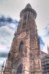 Friburgo, la torre de la Catedral. (JuanmaMateos) Tags: alemania friburgo photomatix ecologica pseudohdr juanmamateos
