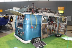 VW T1 Hippie Camper (1956) (Mc Steff) Tags: flower bus vw t 1 power hippie 1956 camper flowerpower t1 wohnmobil bulli vokswagen retroclassicsmessestuttgart2015