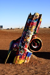 Cadillac Ranch, Amarillo, TX (flyingaxel) Tags: world ranch travel art cars texas tx 66 cadillac route amarillo
