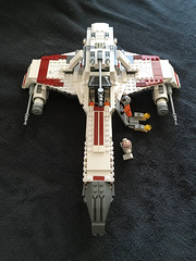 IMG_1268 (lee_a_t) Tags: starwars fighter lego xwing spaceship ewing rebels starfighter darkempire legoxwing legostarfighter legoewing
