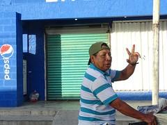 Belize gubbe i Tulum