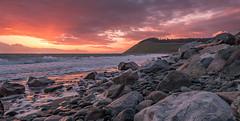 Sunset Whidbey Island, Washington.jpg (Eye of G Photography) Tags: sunset usa beach rocks waves places whidbeyisland northamerica pugetsound washingtonstate sunsetsunrise skyclouds ebeylanding