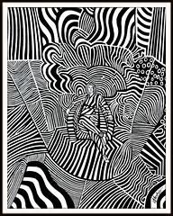 Die Zebrakönigin (LOMO56) Tags: modernart kunst modernekunst zeichnungen gemälde ölgemälde acrylgemälde