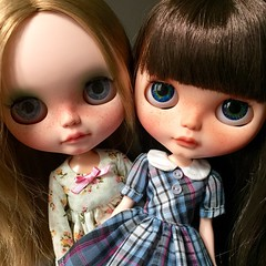 Happy weekend!! (*SO-CALLED BLYTHE* by so-called anna) Tags: childish rblblythe socalledblythe custombysocalledanna freckledblythe socalledblythecustomdolls