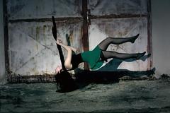 /Breathe/ (Desynaa) Tags: girl dark legs surrealism magic surreal skirt mystic levitate