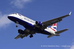 British Airways ERJ170 ~ G-LCYG ( Freddie) Tags: london londoncityairport newham e16 lcy royaldocks eglc runway27