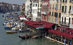 View from the Rialto Bridge (donachadhu) Tags: venice italy rialtobridge canal sonya700