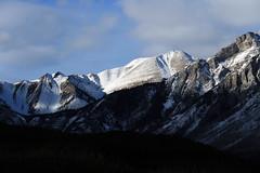 Banff, Lake Minnewanka, Feb 20, 2016 (2) (Velates) Tags: park winter lake canada mountains national valley bow banff lakeminnewanka