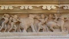 India - Madhya Pradesh - Khajuraho - Khajuraho Group Of Monuments - Kandariya Mahadeva Temple - 228 (asienman) Tags: india khajuraho madhyapradesh khajurahogroupofmonuments asienmanphotography