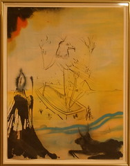Salvador Dali (1904-1989) Sigmund Freud. Mose et le monothisme, Paris; Nice^ Art et Veleur, 1974 10 mixed media prints (intaglio and lithography); wood engravings Copy # 204 from the edition of 300 (Sergei P. Zubkov) Tags: art stpetersburg kunst april hermitage 2016 winter palace
