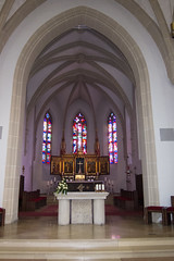 Altar in German church (quinet) Tags: church germany kirche glise 2012 castleroad burgenstrase