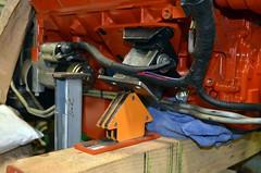 Passenger's Side Mocked-up (john.and.kath) Tags: chevrolet conversion welding engine mount swap impala ls 1965 pedestal fabrication 60l l98 jrd ls2 l76