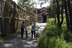 Walking uphill to Hnee Hpaya, Kalaw (Michael Chow (HK)) Tags: burma myanmar kalaw