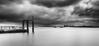 Langstone Harbour Ferry pontoon