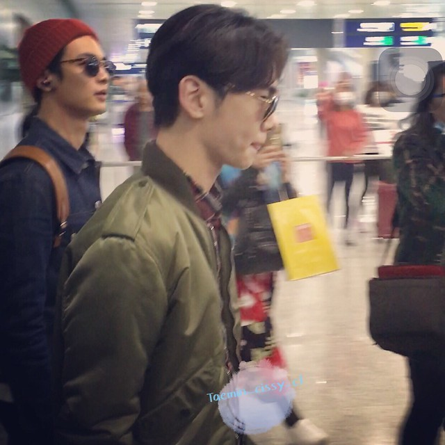 160328 SHINee @ Aeropuertos de Incheon y Shanghai {Rumbo a China} 26076119716_9cab280ce9_z